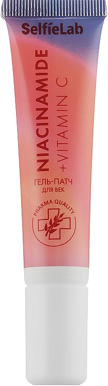 Гель-патчи для кожи вокруг глаз - Selfielab Niacinamide + Vitamin C