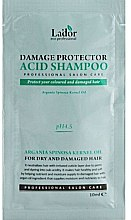 Духи, Парфюмерия, косметика Бесщелочной шампунь для поврежденных волос - La'dor Damage Protector Acid Shampoo (пробник)
