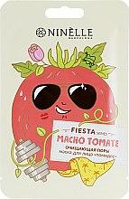 """Духи, Парфюмерия, косметика Тканевая маска для лица, очищающая поры """"Помидор"""" - Ninelle Fiesta"""