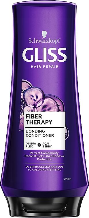 Бальзам для ослабленных и истощенных после окрашивания и стайлинга волос - Gliss Hair Renovation Balsam
