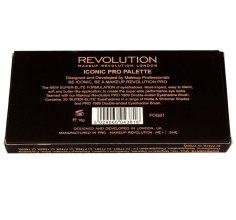Палетка теней для век, 16 оттенков - Makeup Revolution Salvation Palette Iconic Pro 1 — фото N2