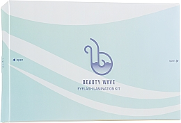 Парфумерія, косметика Набір для ламінування вій - Beauty Wave Eyelash Lamination Kit (eye/cr/2x15ml + eye/ess/2x15ml + eye/gel/8ml + eye/rollers/5st + applicator/4st)