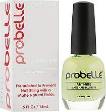 Духи, Парфюмерия, косметика Средство против обгрызания ногтей - Probelle Anti Bite Base Coat
