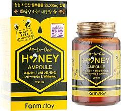 Духи, Парфюмерия, косметика Многофункциональная медовая сыворотка-боченок для лица - FarmStay All-In-One Honey Ampoule