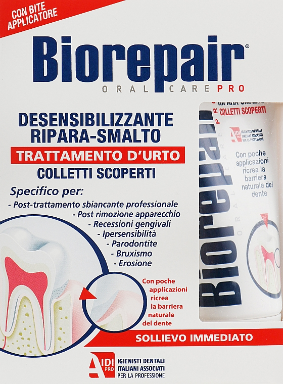 Десенситайзер - Biorepair Biorepair Desensitizing Enamel Repairer Treatment