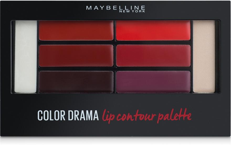 Палетка для контурирования губ - Maybelline New York Color Drama Lip Contour Palette