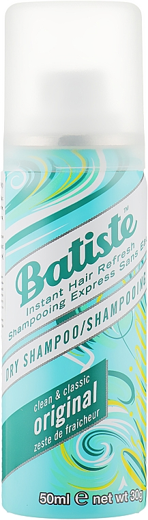 Сухой шампунь - Batiste Dry Shampoo Clean and Classic Original