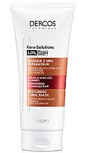 Духи, Парфюмерия, косметика Восстанавливающая 2-минутная маска для реконструкции поверхности поврежденных ослабленных волос - Vichy Dercos Kera-Solutions Restoring 2 min. Mask