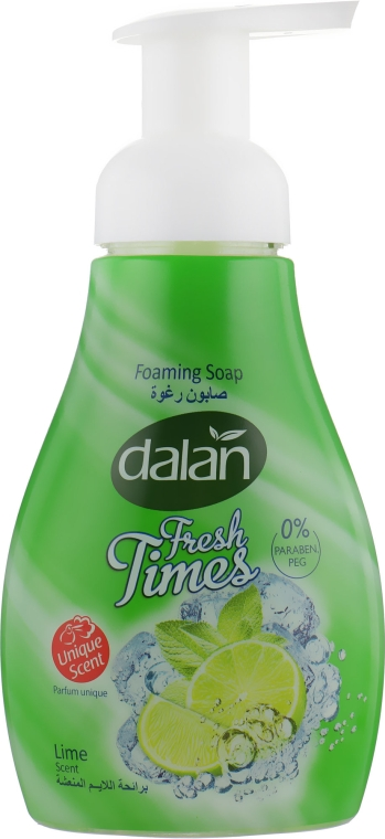 "Пенное мыло ""Лайм"" - Dalan Fresh Times Lime Foaming Soap"