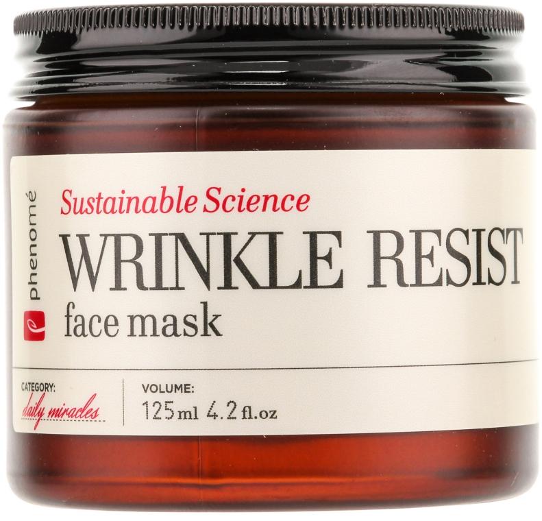 Антивозрастная маска - Phenome Wrinkle Resist Face Mask