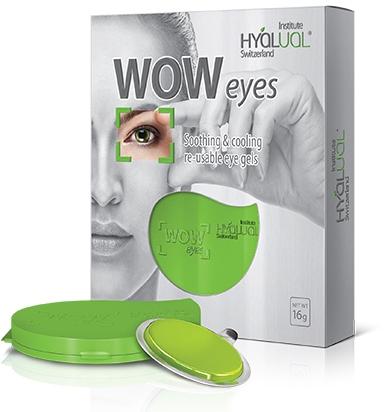 Гелевые патчи для кожи вокруг глаз - Institute Hyalual WOW Eyes — фото N1
