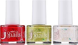 Духи, Парфюмерия, косметика Набор лаков для ногтей - Snails Festive Mini (nail/polish/3х7ml)