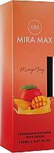 Духи, Парфюмерия, косметика Аромадиффузор - Mira Max Mango Tango Fragrance Diffuser With Reeds
