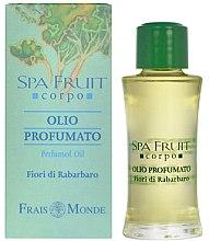 Духи, Парфюмерия, косметика Frais Monde Spa Fruit Rhubarb Flower Perfumed Oil - Парфюмированное масло