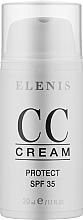Духи, Парфюмерия, косметика Крем для лица - Elenis Total Cover Cream And Protect SPF35