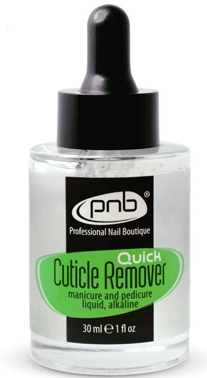 Средство для удаления кутикулы быстродействующее, щелочное - PNB Quick Cuticle Remover