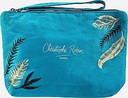 Духи, Парфюмерия, косметика Набор - Christophe Robin Purifying Travel Kit (shm/75ml + cr/20.7ml + scr/40ml + bag)
