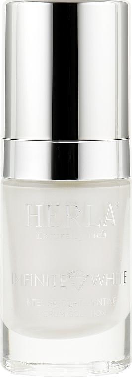 Интенсивная депигментационная сыворотка для лица - Herla Infinite White Intense Depigmenting Serum Solution