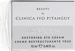 Духи, Парфюмерия, косметика Восстанавливающий крем для кожи вокруг глаз - Ivo Pitanguy Restoring Eye Cream