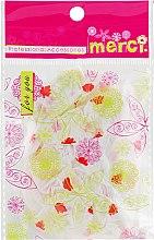 Духи, Парфюмерия, косметика Шапочка для окрашивания, MB2280, красные листочки - Merci