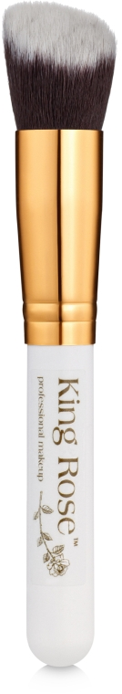 Кисть для макияжа со скошенным срезом - King Rose
