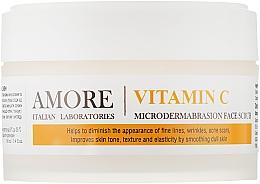 Парфумерія, косметика Концентрований скраб-пілінг для мікрошліфування шкіри - Amore Vitamin C Microdermabrashion Face Scrub