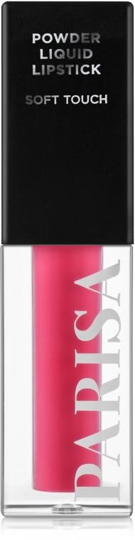 Матовая жидкая помада для губ с пудровым эфектом - Parisa Cosmetics Powder Liquid Lipstick LG-112