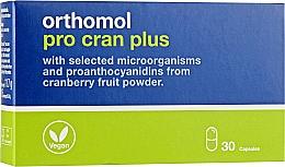 Духи, Парфюмерия, косметика Капсулы пробиотики + экстракт Клюквы (15 дней) - Orthomol Pro Cran Plus