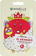 """Духи, Парфюмерия, косметика Антивозрастная тканевая маска для лица """"Гранат"""" - Ninelle Fiesta"""