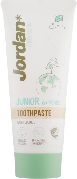 Зубная паста, 6-12 лет - Jordan Green Clean Junior