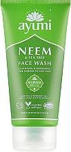Духи, Парфюмерия, косметика Гель для умывания - Ayumi Neem & Tea Tree Face Wash