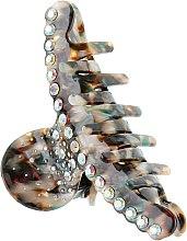 """Духи, Парфюмерия, косметика Крабик для волос """"Дуга со стразами"""", 291, разноцветный - Элита"""