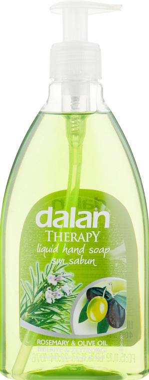"Мыло жидкое ""Розмарин и оливковое масло"" - Dalan Therapy Rosemary & Olive Oil Liquid Hand Soap"