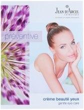 Духи, Парфюмерия, косметика Крем для кожи вокруг глаз - Jean d'Arcel Preventive Gentle Eye Care (пробник)