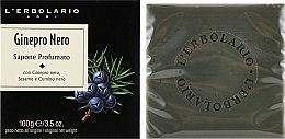 """Духи, Парфюмерия, косметика Душистое мыло """"Черный можжевельник"""" - L'Erbolario Black Juniper Perfumed Soap"""