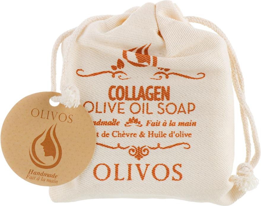 """Натуральное оливковое мыло """"Коллаген"""" - Olivos Collagen Olive Oil Soap"""