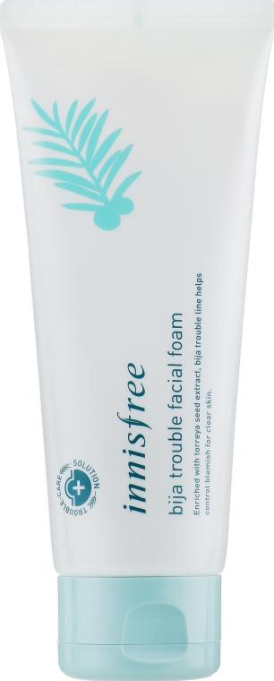 Пенка для умывания для проблемной кожи - Innisfree Bija Trouble Cleansing Foam