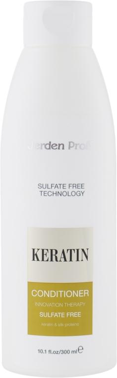 Кондиционер для волос безсульфатный с кератином - Jerden Proff Sulfate Free Conditioner — фото N3