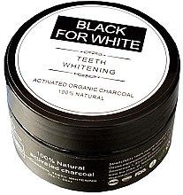 Отбеливающий зубной порошок c активированным углем - Biomika Black For White Teeth Whitening — фото N1