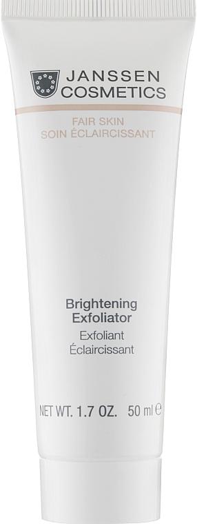 Пилинг-крем для выравнивания цвета лица - Janssen Cosmetics Brightening Exfoliator