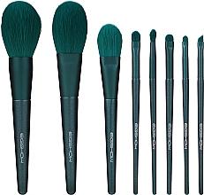 Духи, Парфюмерия, косметика Набор кистей для макияжа - Eigshow Beauty Jade Green Brush Kit With Box