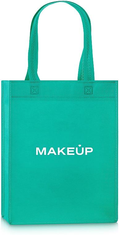 Сумка-шоппер, зеленая «Springfield» - Makeup Eco Friendly Tote Bag