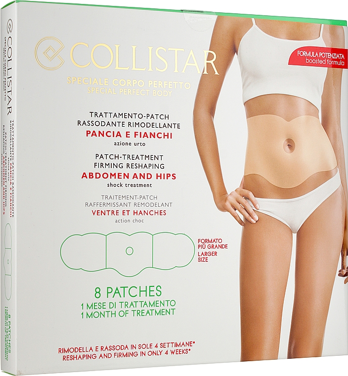 Патч-наклейки для похудения - Collistar Patch-treatment Reshaping Abdomen And Hips