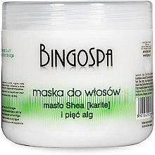 Духи, Парфюмерия, косметика Маска для волос с маслом ши - BingoSpa Hair Mask Shea Butter And Five Algae