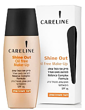 Духи, Парфюмерия, косметика Тональный крем для лица, матирующий - Careline Shine Out Oil Free Makeup All