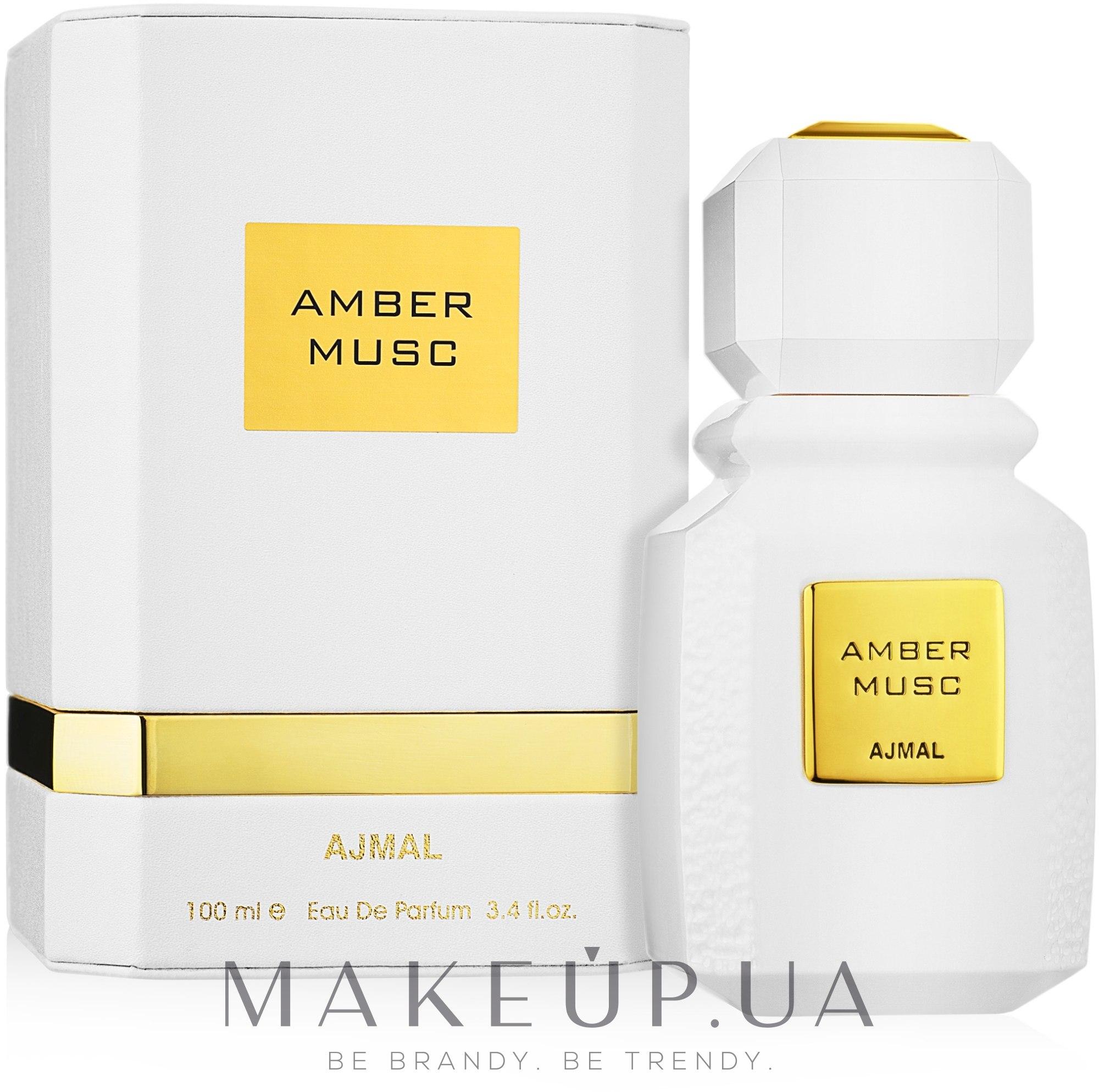Ajmal Amber Musc - Парфюмированная вода — фото 100ml