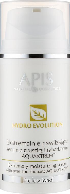 Экстремально увлажняющая сыворотка с грушей и ревенем - APIS Professional Hydro Evolution Extremely Moisturizing Serum