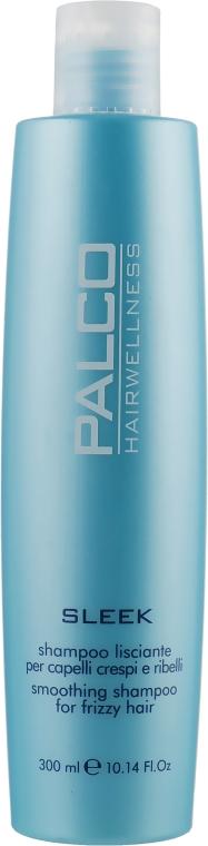 Шампунь разглаживающий для непослушных волос - Palco Professional Sleek Shampoo
