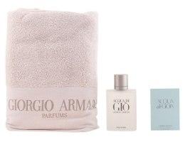 Духи, Парфюмерия, косметика Giorgio Armani Acqua di Gio Homme - Набор (edt 100ml + towel)