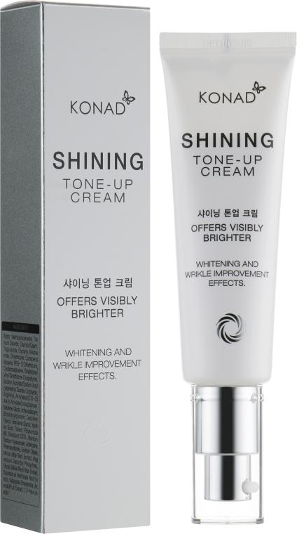 Отбеливающий тонизирующий крем для лица - Konad Shining Tone-Up Cream
